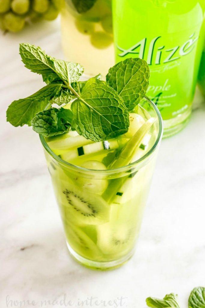 green goddess lemonade
