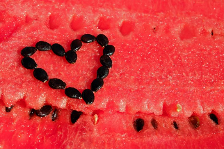 11 Fun Facts for watermelon day, plus an easy sorbet recipe