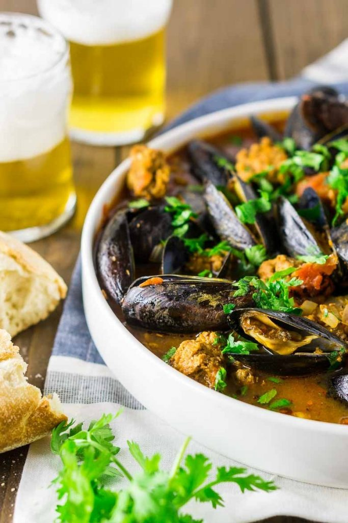 15 recipes with beer you need to make for St. Patrick's Day - beer-mussels