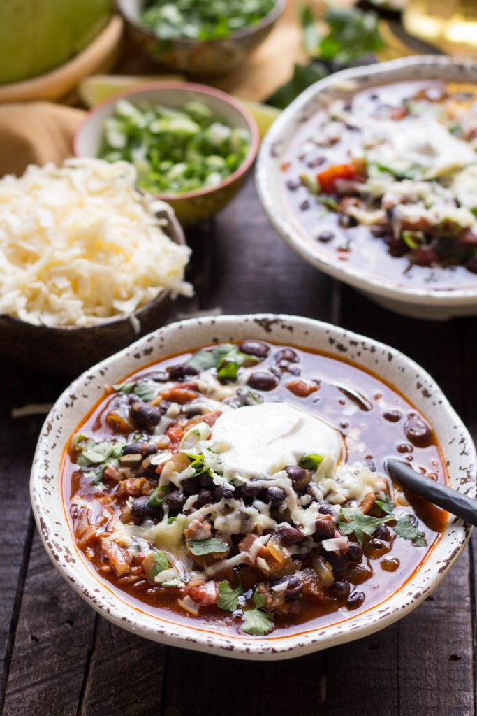 15 recipes with beer you need to make for St. Patrick's Day - black bean soup with beer
