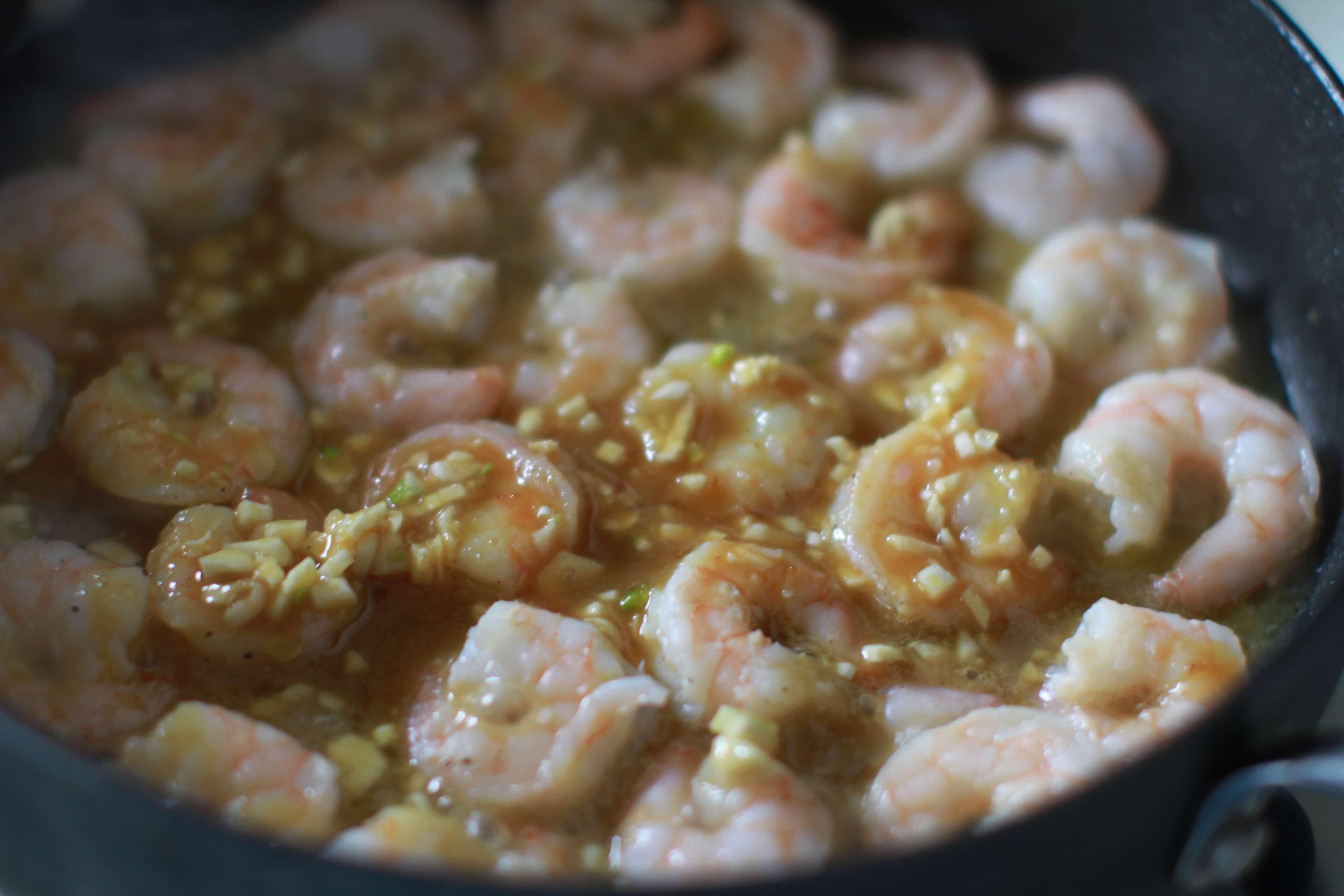 20 Minute Honey Mustard Garlic Shrimp Recipe-1