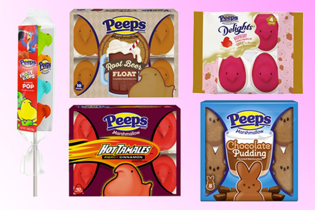 5 new Peeps flavors available for Easter 2020