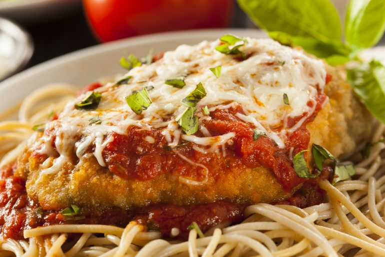 These were the most searched recipes of 2018 - chicken parmesan