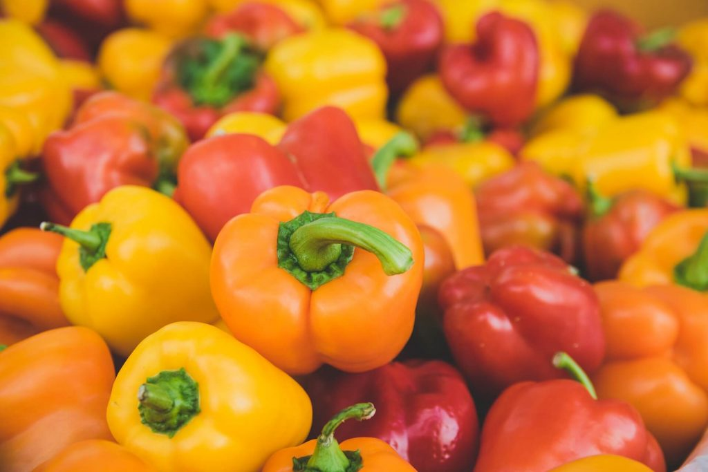 All the produce in season in July_bellpeppers