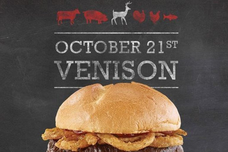 Arby's bringing back venison sandwich nationwide