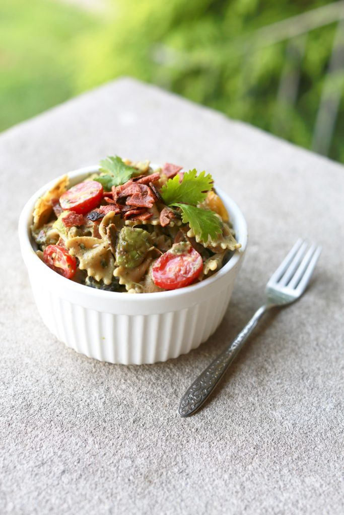 Avocado Pasta Salad Recipe2