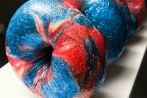Bruegger's and Einstein Bros. baking red, white, and blue bagels to fuel your Fourth of July morning