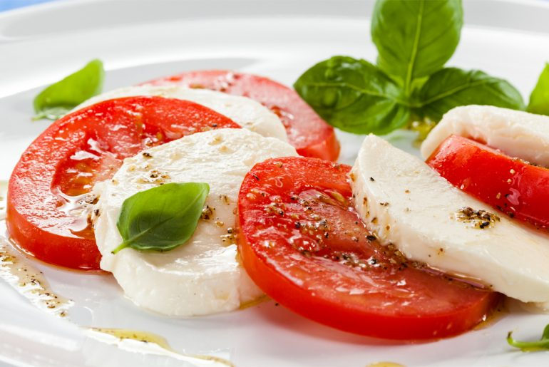 Caprese salad 10 different ways