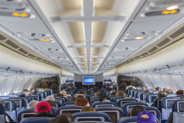 Choosing this seat on the airplane will help you avoid getting sick, study says