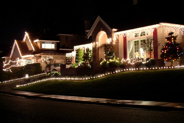 Decorating your house for the holidays early can make you happier