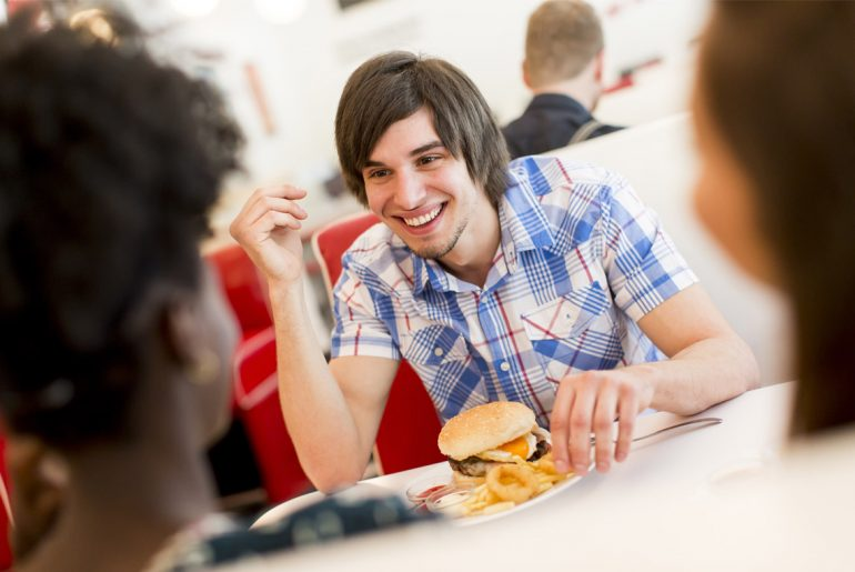 Diner to add new teen-tax to young patron's bills