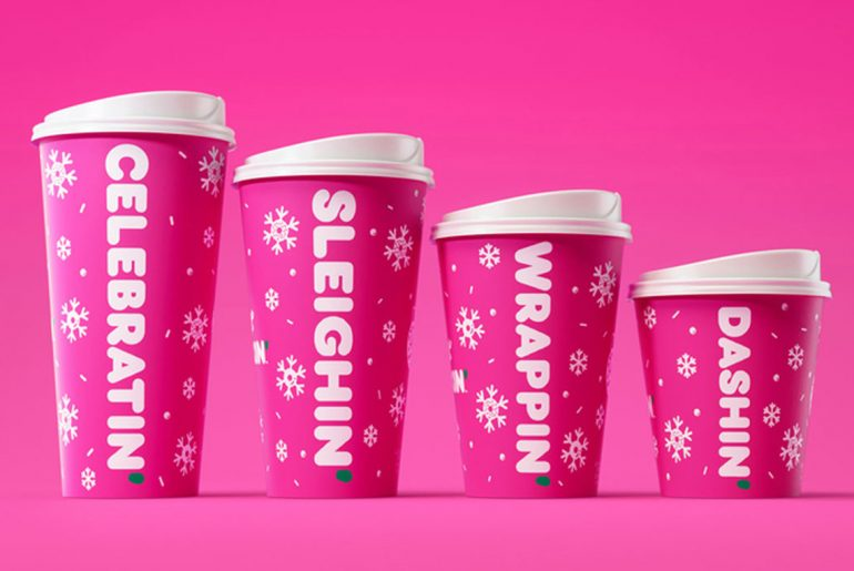 Dunkin' unveils holiday menu for 2019, including return of Peppermint Mocha
