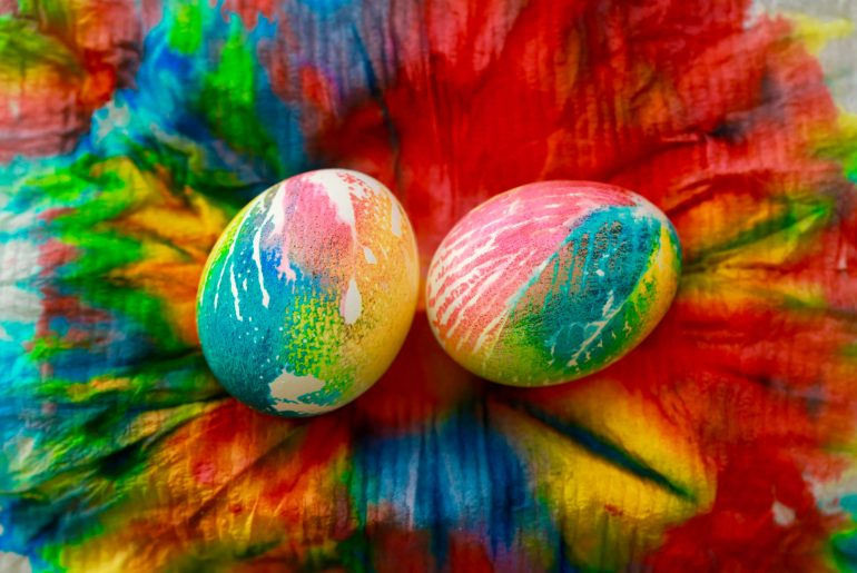 Easy Tie-dye Easter Eggs_4