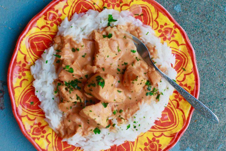 Easy slow cooker chicken tikka masala5