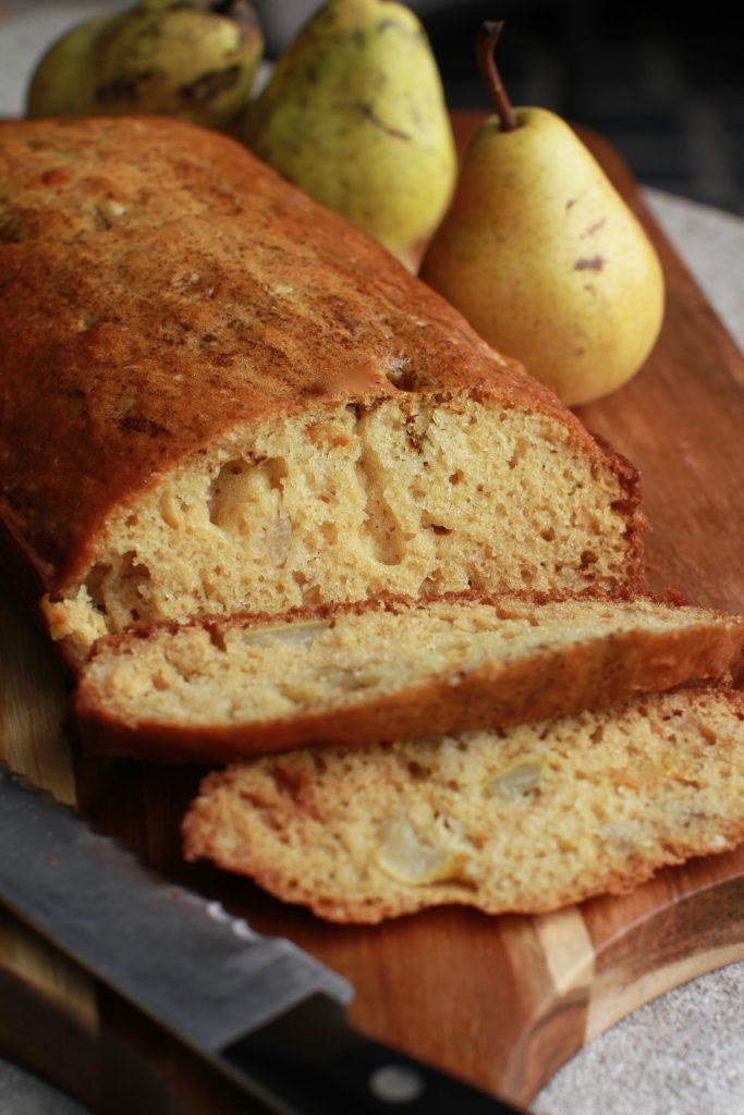 Ginger Pear Bread Recipe2