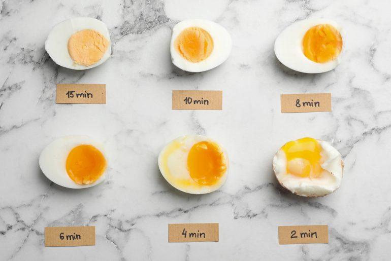 Hard boiled eggs in an instant pot