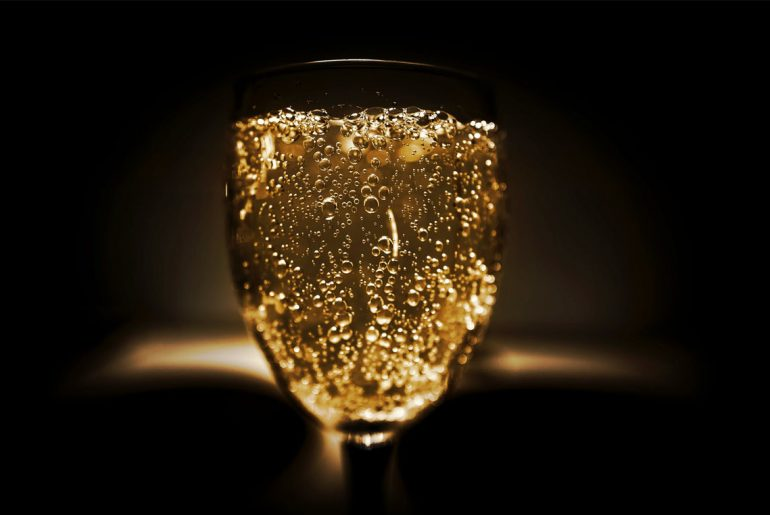 Here's why the first glass of champagne will get you drunker