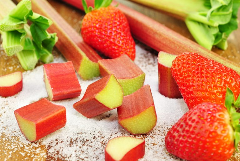 How to freeze rhubarb for use all year long