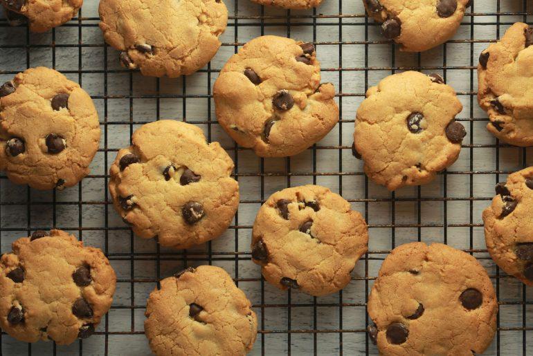 Irish whiskey chocolate chip cookies