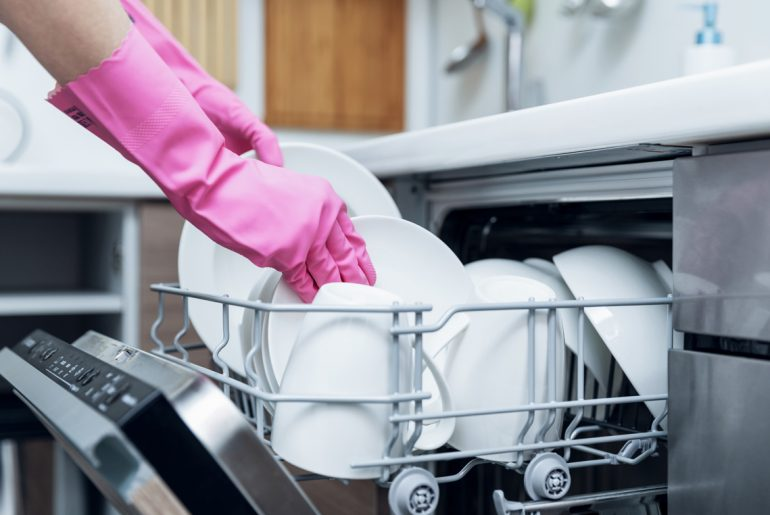 Is a dishwasher or washing dishes by hand a better option?
