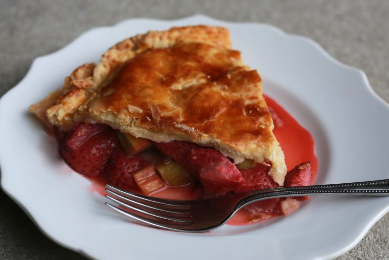 It's not summer without strawberry, rhubarb pie -3