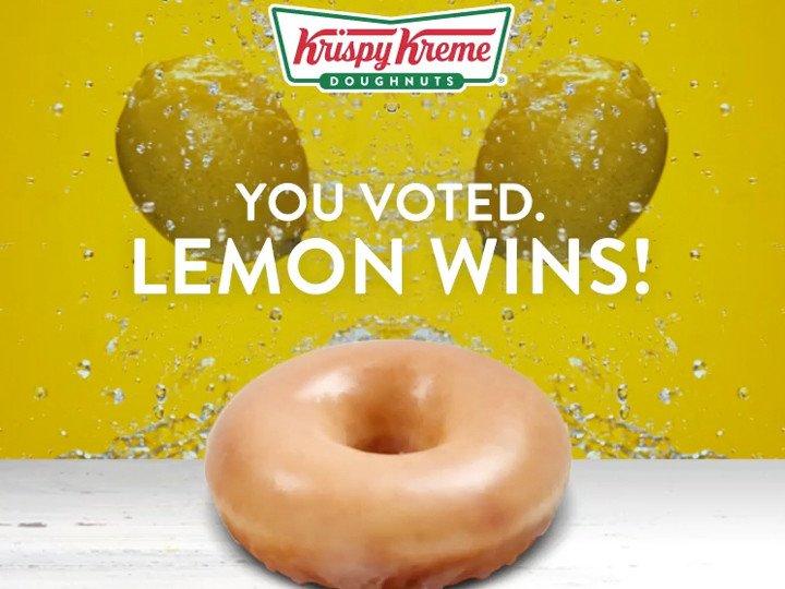 Krispy Kreme debuts new Lemon doughnut for 1 week only