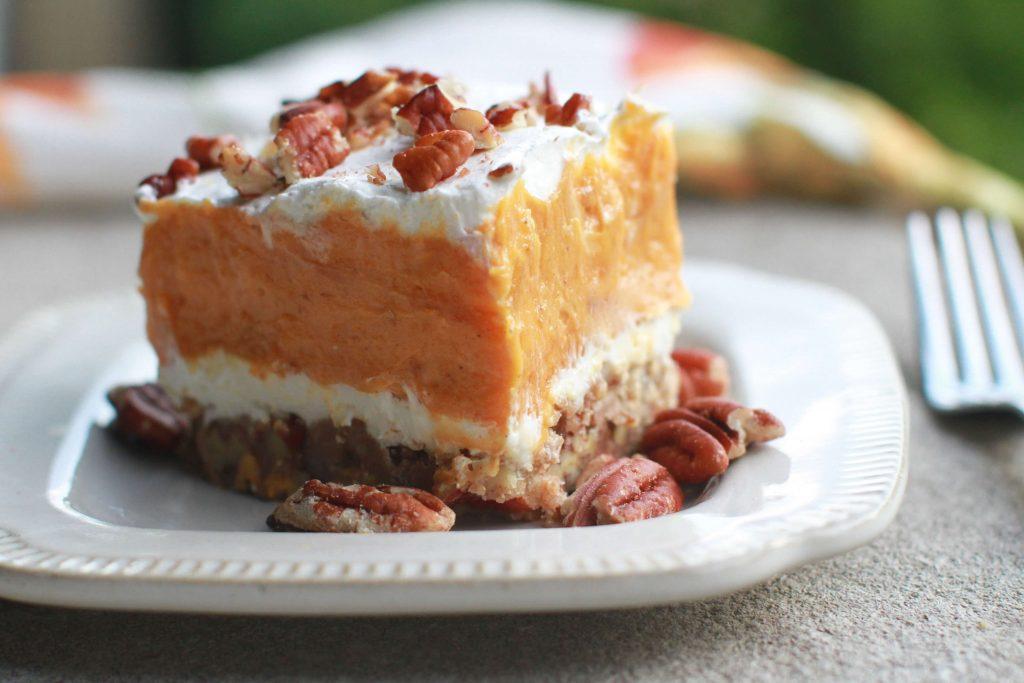 Layered Pumpkin Delight Dessert Recipe4