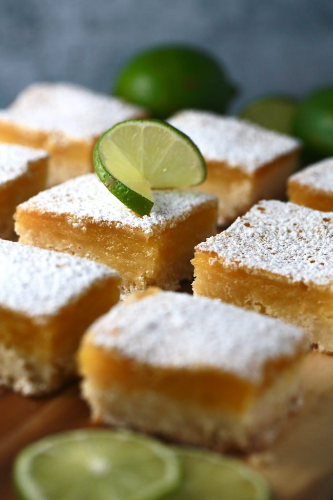 Lovely lime squares bring just enough zing_!