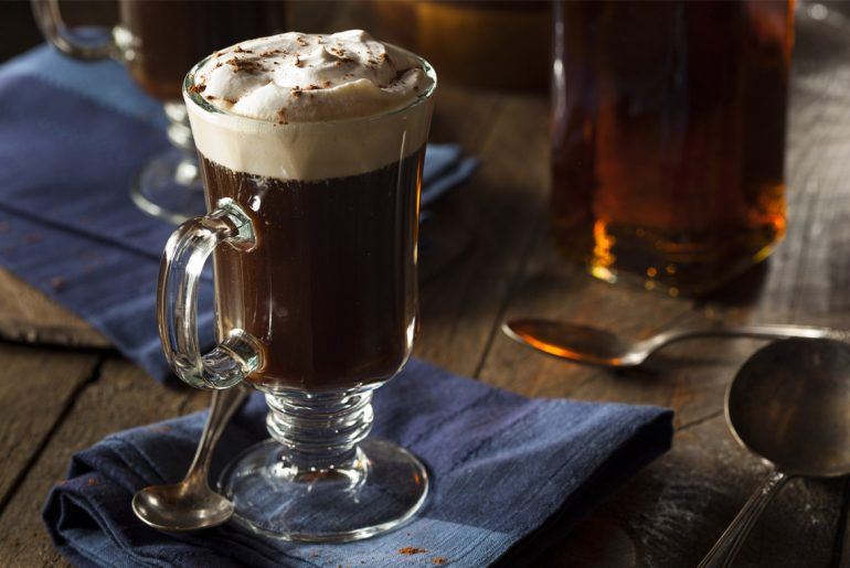 Make the original Irish Coffee this St. Patrick's Day