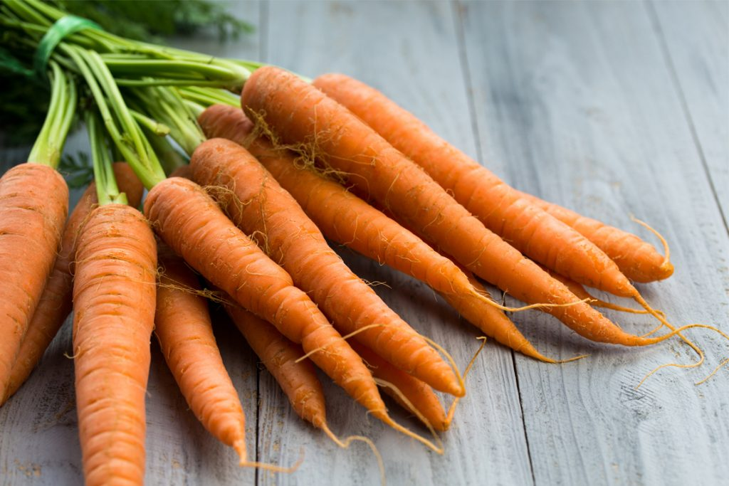 Moldy foods that are still safe to eat, according to the USDA_carrots
