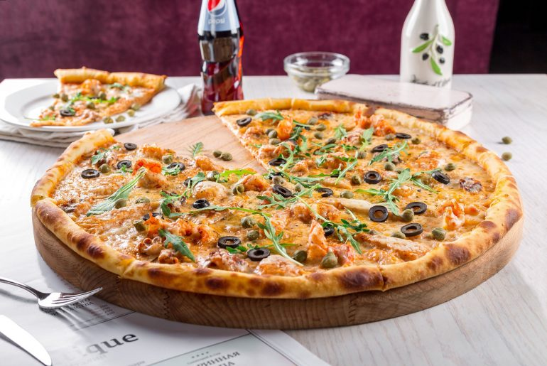 More than 40 percent of Americans eat pizza every week