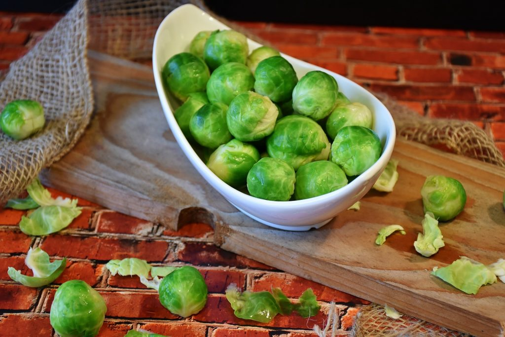 November produce What's in season - brusselssprouts