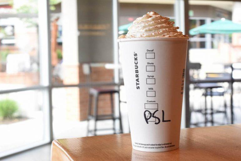 Pumpkin spice latte sauce has arrived at Starbucks