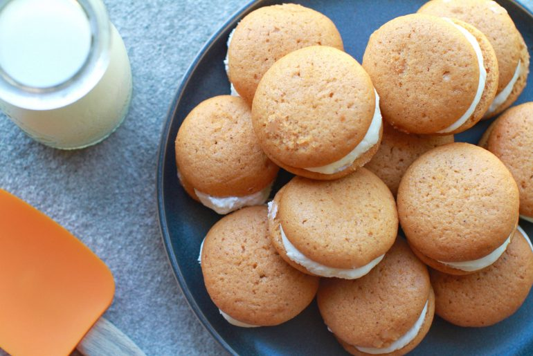 Pumpkin whoopie pies make perfect fall treat
