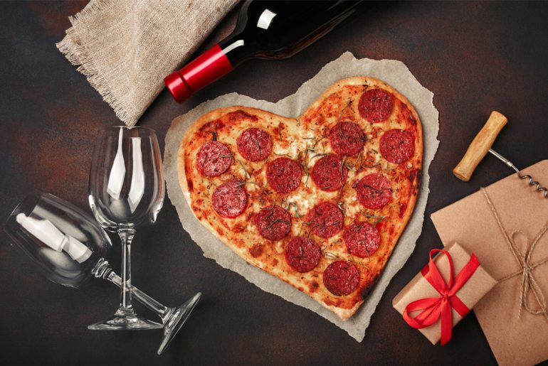 Restaurants offering free food and deals on Valentine's Day