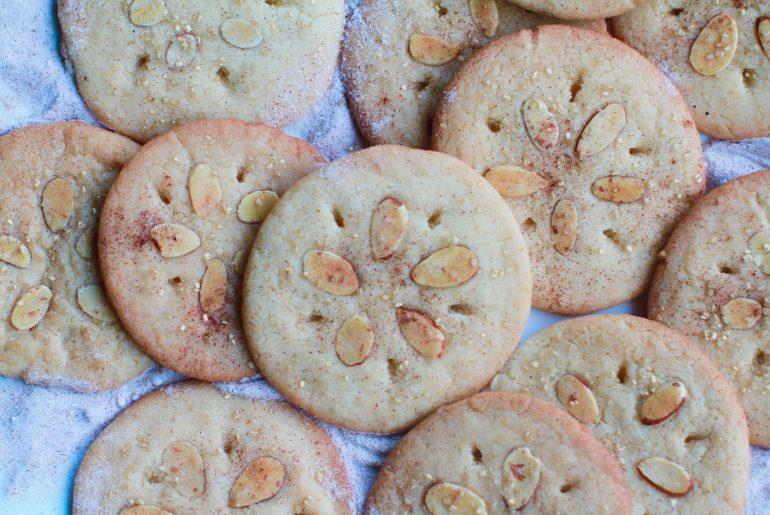 Sand dollar shark week cookies - sugar cookies