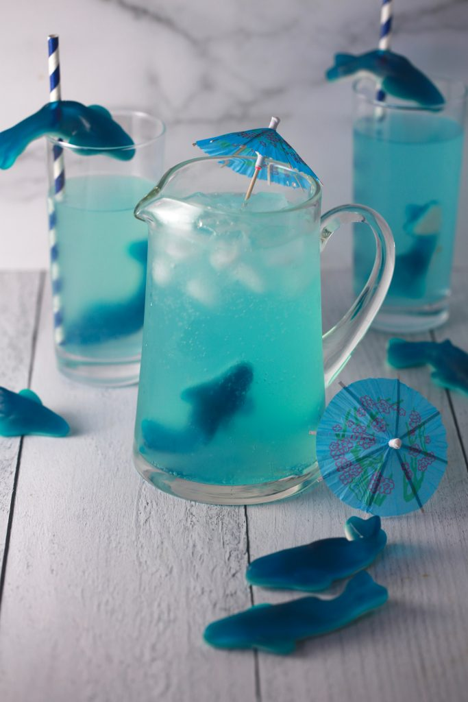 Shark attack kids cocktail