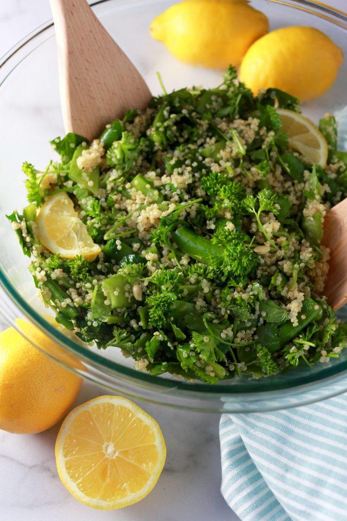 Springtime pea tabouli salad_3