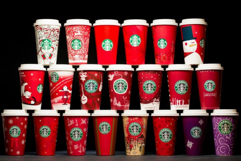 Starbucks holiday cups celebrate 20 years