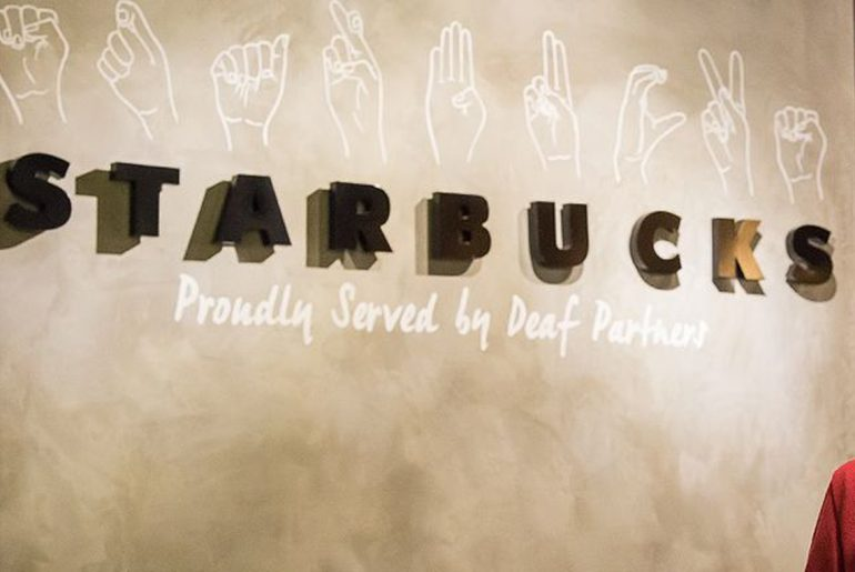 Starbucks to open first U.S. store for the deaf community