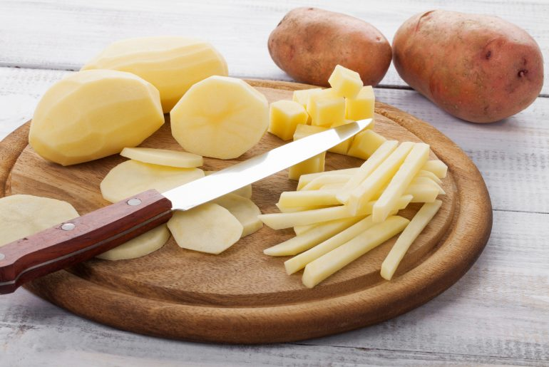Stop your potatoes from browning