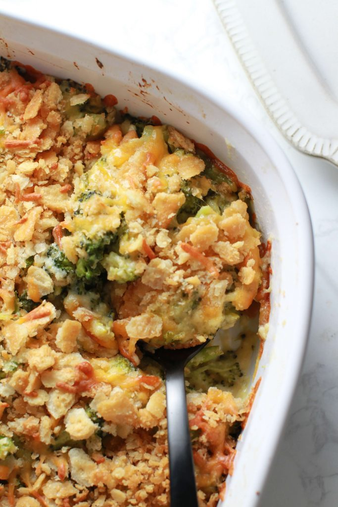 Thanksgiving Day broccoli cheese casserole_4