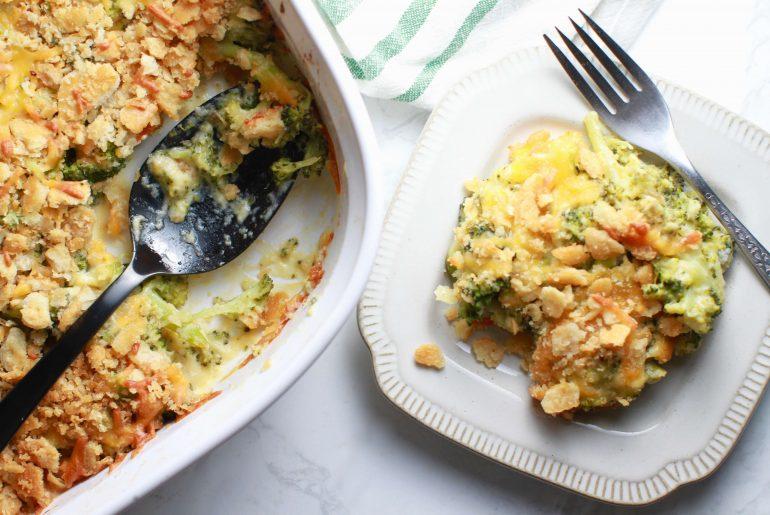 Thanksgiving Day broccoli cheese casserole_4