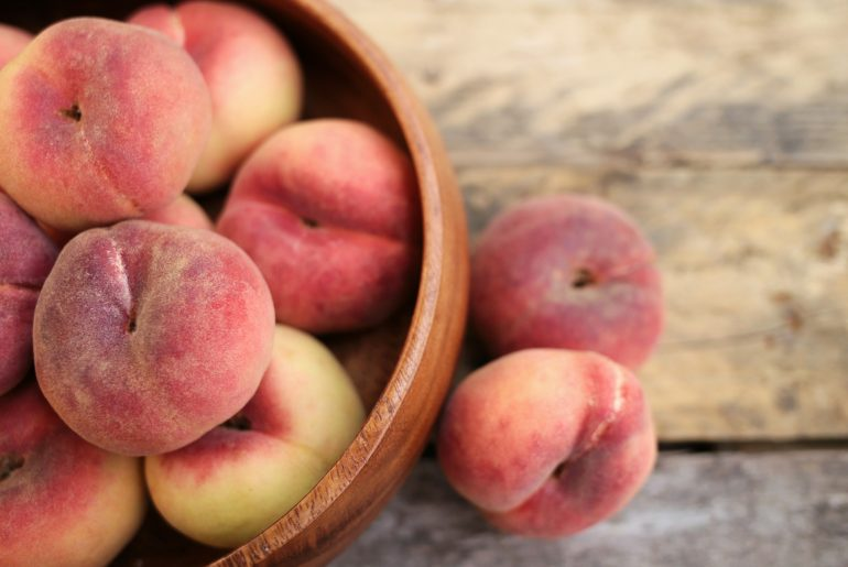 The very best way to freeze peaches