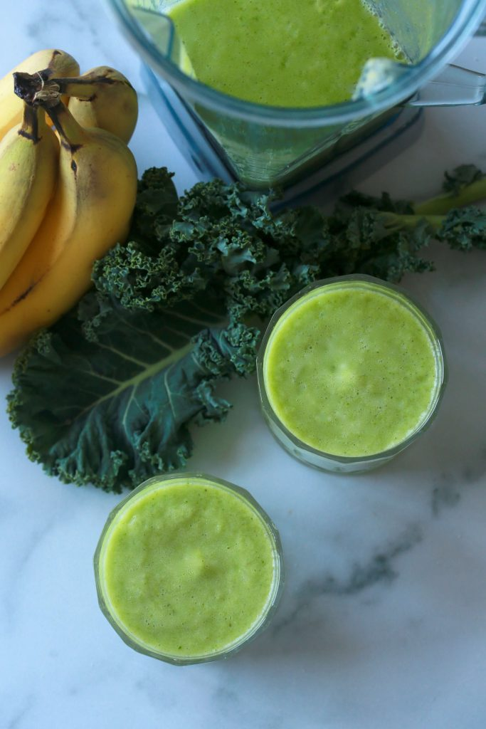 Tropi-kale smoothie pineapple kale_2