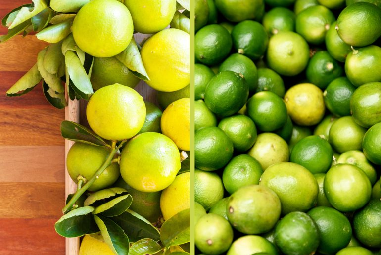 What's the difference between limes and key limes
