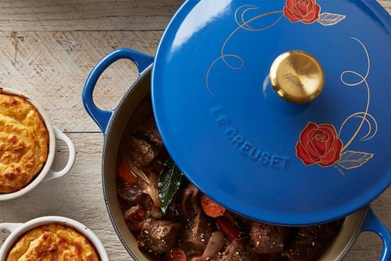 Your guests will love this beauty and the beast themed pot by Everybody Craves