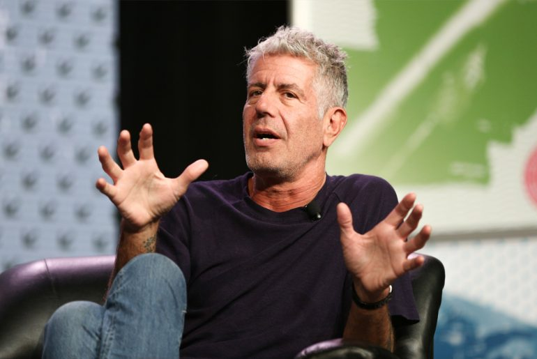 Anthony Bourdain gives opinion on unicorn frap and other food trends by Everybody Craves