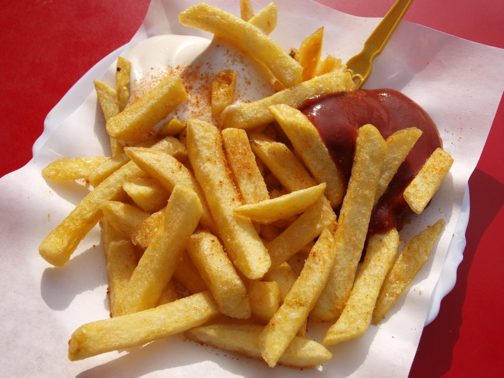 Foods you should never freeze-french fries