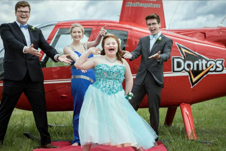 Doritos gives teens stylish lift to prom after hearing touching story by Everybody Craves